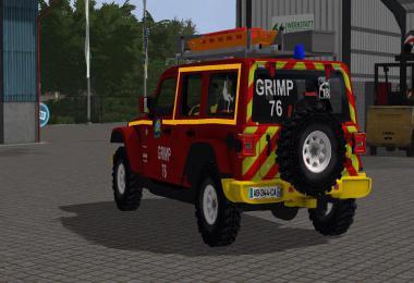 Jeep Wrangler Pompier v1.0