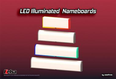 Kelsa LED illuminated nameboards v1.11