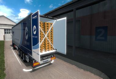 Krone Megaliner with Swing door v1.0