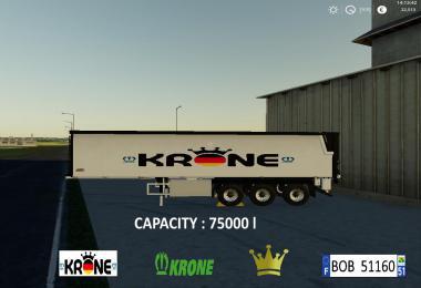 Krone Trailer By BOB51160 v1.0.0.1