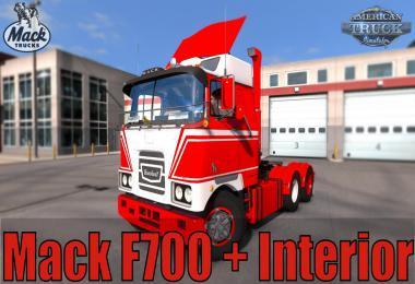 Mack F700 + Interior v1.1 1.35