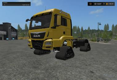 Man tracked semi v1.1