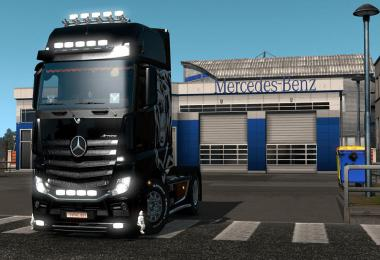 Mercedes Benz 750 hp Multiplayer 1.35.x