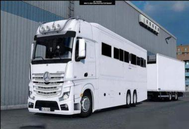Mercedes Benz MP4 Actros Motorhome v2.0