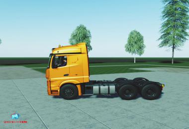 Mercedes Actros MP4 Fs19 v1.0