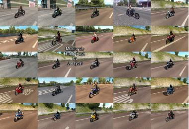 Motorcycle Traffic Pack by Jazzycat v3.0