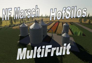 Multifruit Silo mit Erweiterung v3.0