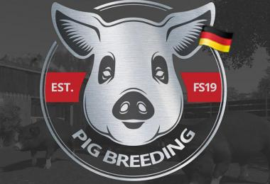 Pig Breeding / Schweinezucht Mod v1.0