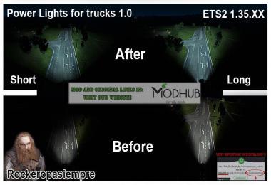 Powerlights for trucks v1.0 by Rockeropasiempre