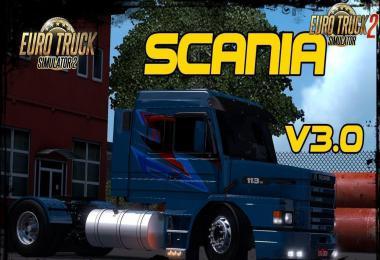 Scania 113H + Interior v3.0