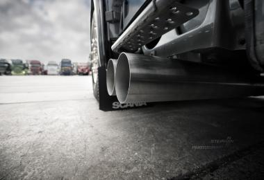 Scania L6 Open Pipe v2.0 for the Scania R/S 2016