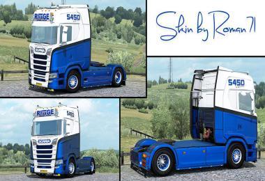 Scania NG S TransRivage skin 1.35