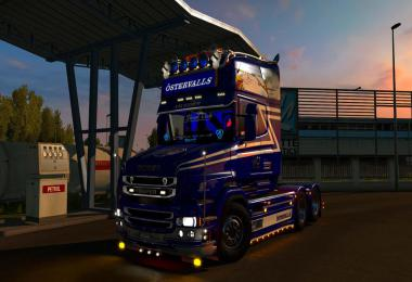 Scania T Ostervalls skin + lightbox v1.0