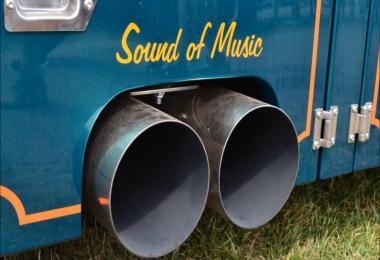 Scania V8 sound v10.5 Opticruise gear sound for Scania 2016