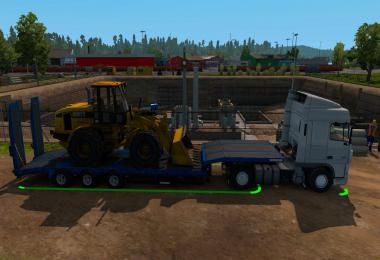 Schwarzmuller low bed semi-trailer in ownership v1.0