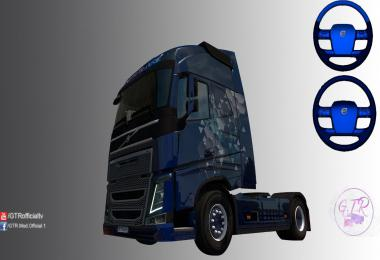 Skin Blue Metallic for Volvo FH 2012 V1.0