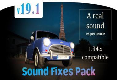 Sound Fixes Pack v19.1 ETS2 1.34