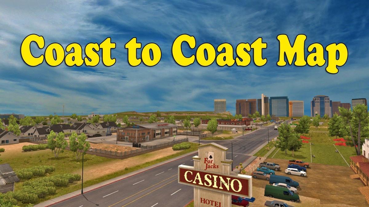 Coast to Coast Map v2 8 update 1 35 x - Modhub us