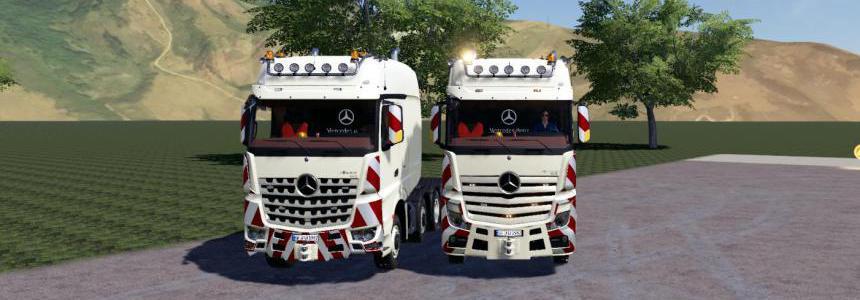 Mercedes Actros ArocsSLT8x4 fs19 v1.0
