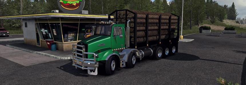 Western Star 4900sb & Extra Cargo's for ATS 1.35 DX9