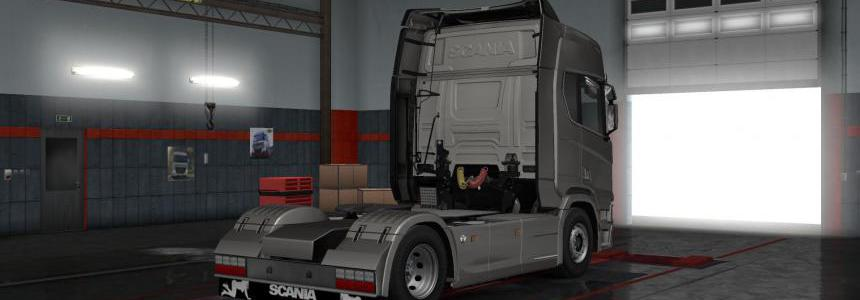 Scania Mudflap Pack 1.4.1 1.35.x