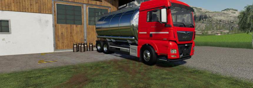 MAN TGX Tanker Truck v1.0.0.0