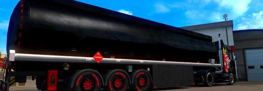 Air Suspension Fuel Tanker Trailer v1.0