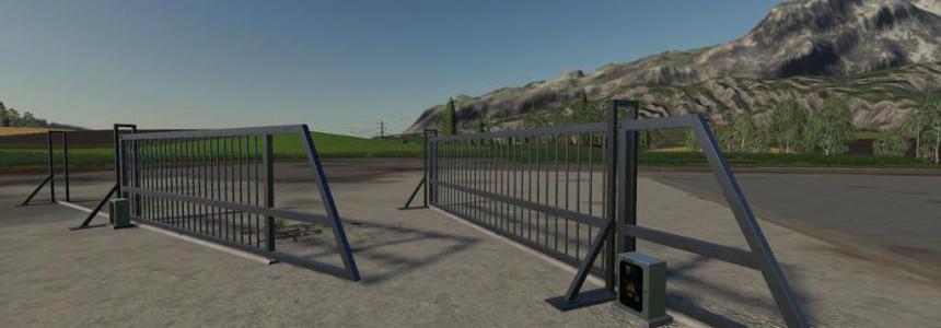 Aluminum Sliding Gate v1.0.0.0