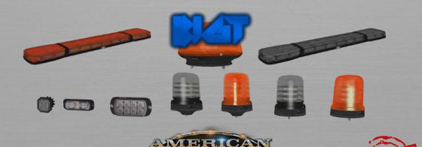 BigT Britax LED Beacons Pack [UPD:26.06.19] 1.35.x