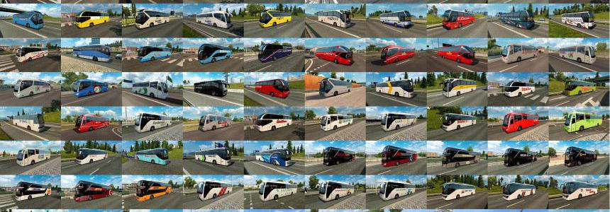 Bus Traffic Pack by Jazzycat v7.1
