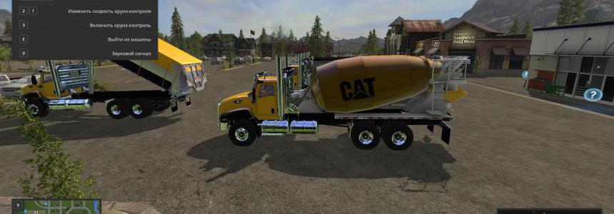 CAT CT660 Concrete Mixer v1.0.0.0