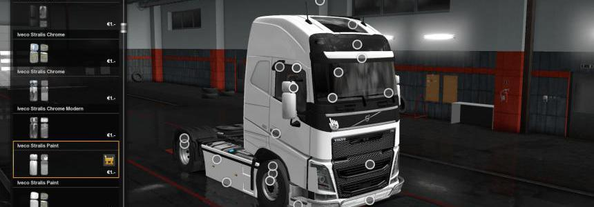 Extrem Customization Unlock All Part For All Truck 1.35.x