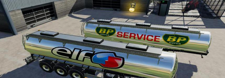 FS19 Trailer BP Elf By BOB51160 v1.0.0.3