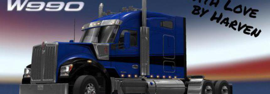 Kenworth W990 edited by Harven v1.1 1.35.x