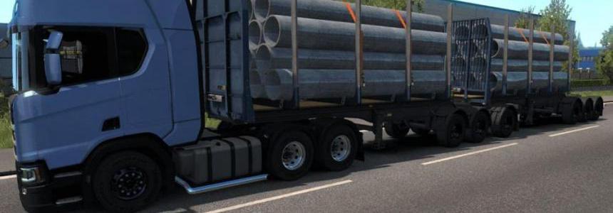 Logs Trailer B-Train [MP-SP] 1.35.x