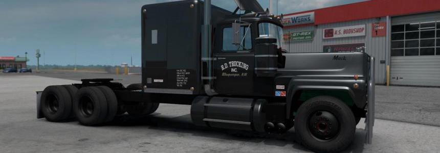 Mack RS 700L Rubber Duck Reworked by Caleb_Crow 1.35.x