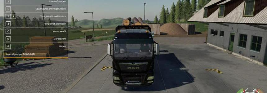 MAN Forst LKW MP v1.4.6
