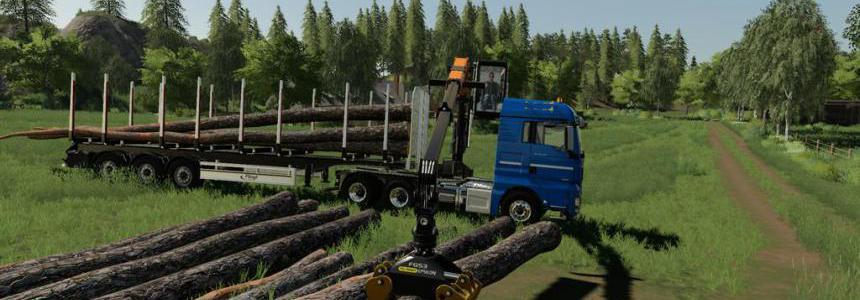 MAN TGX Forest Semitrailer Pack v1.0.0.0