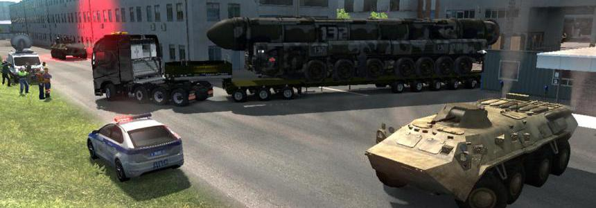 Military Oversized Cargo v2.0 for DLC Beyond the Baltic Sea
