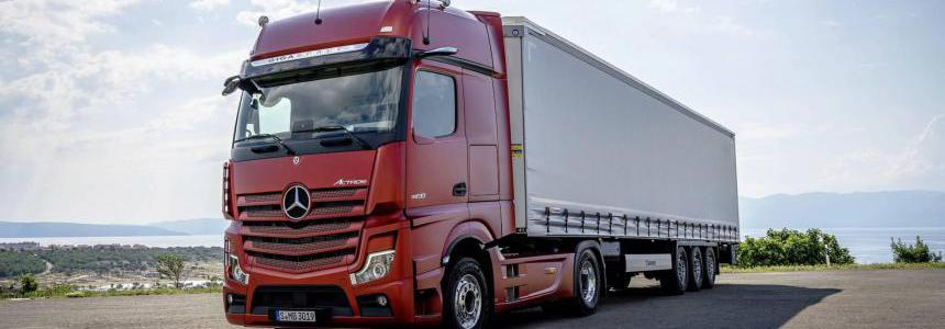 New Detroit Diesel 13 Engines With Sounds For New Actros 1.35