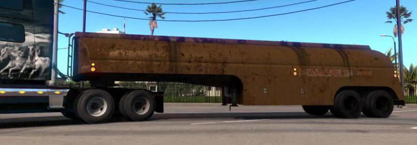 Ownable 50's Fruehauf Tanker Trailer - Duel v1.1