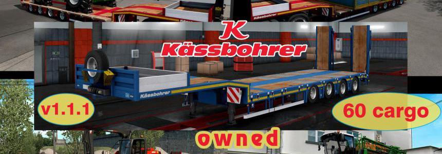 Ownable overweight trailer Kassbohrer LB4E v1.1.1