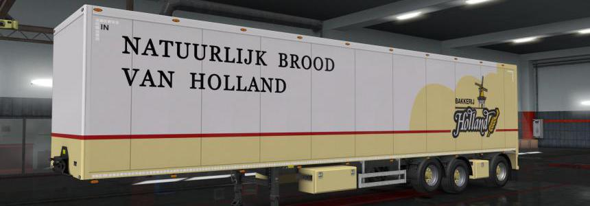 Owned Trailer Skin Bakkerij Holland 1.35