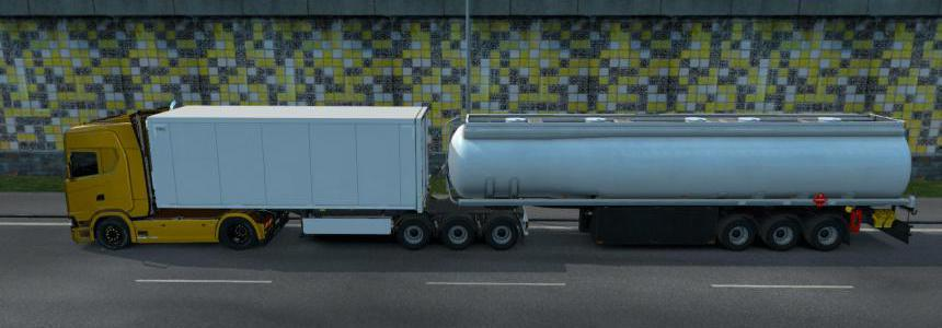 Fuel Cistern Trailer Mod For Multiplayer v1.0
