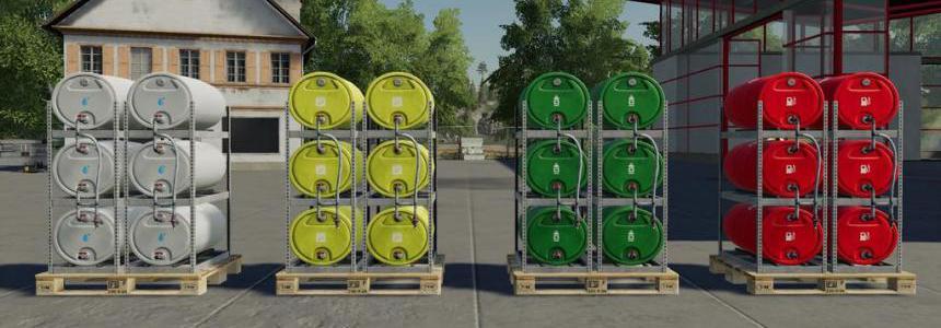 Pallets With Barrels v1.0.0.0
