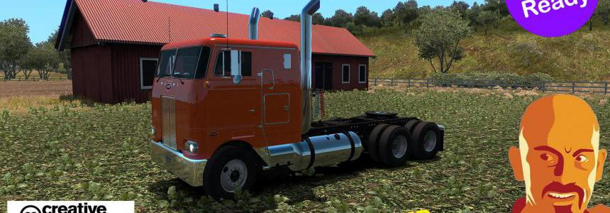 Peterbilt 352 Reworked Ats 1.35.X Dx11 Fix No Dlc Needed