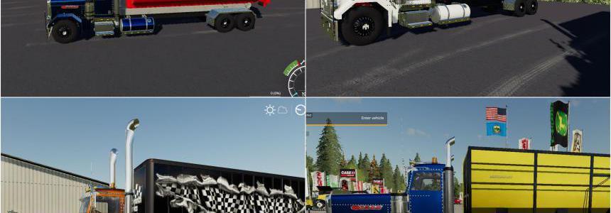 Peterbilt Trucks Pack v1.0.0.0