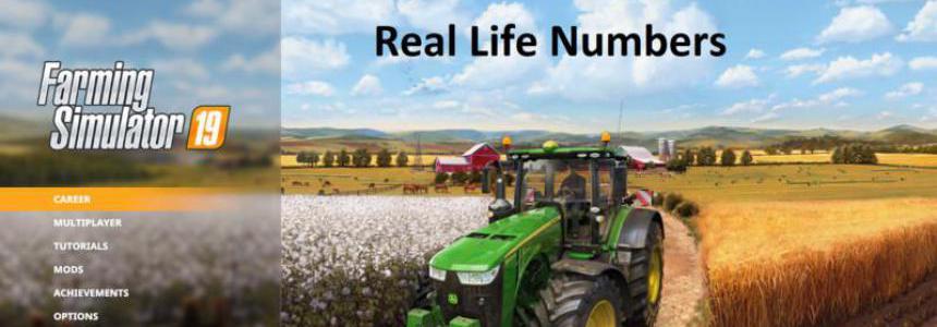 Real Life Numbers US Heartland v1.1.3.0