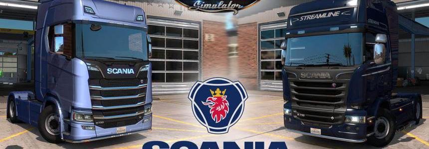 Scania Trucks Mod v2.1 – by Frkn64