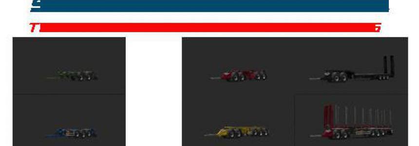SCS Rigid trailers by Teklic v1.2 1.35.x